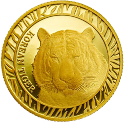 Korean Tiger Bullion Series Medal