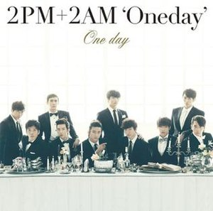 One Day (2AM and 2PM song) - Image: 2PM2AM Onedaycover