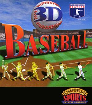 3D Baseball - Image: 3D Baseball Coverart