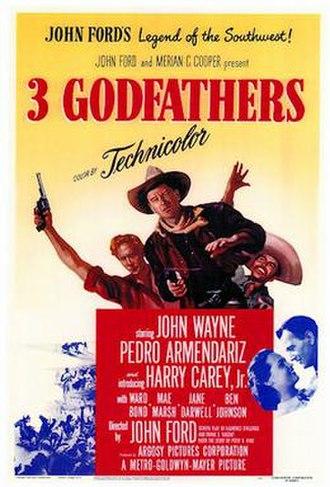 3 Godfathers - Image: 3 Godfathers 1948 poster