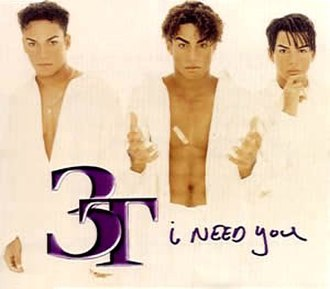I Need You (Frankie Valli song) - Image: 3t i need you