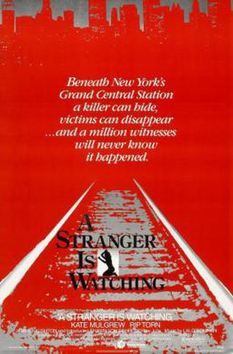 A Stranger Is Watching (film) - Film poster
