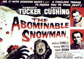 <i>The Abominable Snowman</i> (film) 1957 film by Val Guest