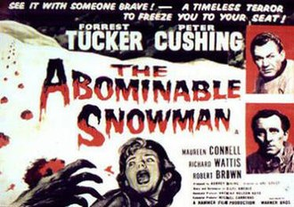 The Abominable Snowman (film) - Theatrical release poster