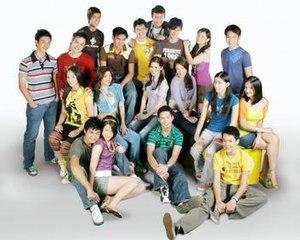 "Abt Ur Luv - The original cast of Abt Ur Luv."""