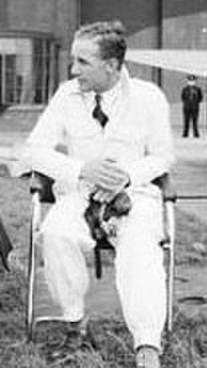 Alex Henshaw - Alex Henshaw, c. 1941.