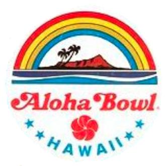 1984 Aloha Bowl - Image: Aloha Bowl logo until 1986