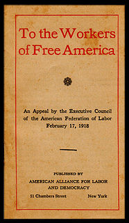 American Alliance for Labor and Democracy