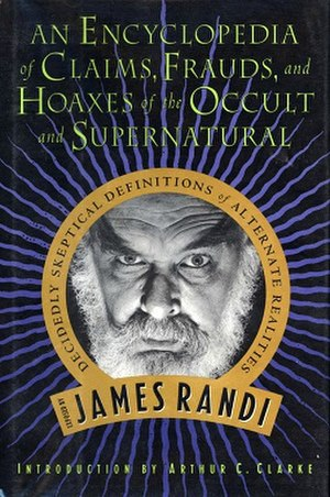 An Encyclopedia of Claims, Frauds, and Hoaxes of the Occult and Supernatural - Image: An Encyclopediaof Claims