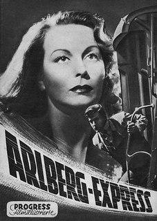 <i>Arlberg Express</i> 1948 film by Eduard von Borsody