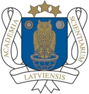 Latvian Academy of Sciences - Image: Arms of the Latvian Academy of Sciences