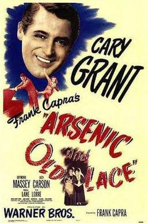 Arsenic and Old Lace (film) - Theatrical release poster