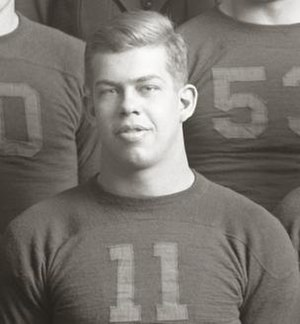 Arthur Valpey - Valpey from 1935 Michigan team photograph