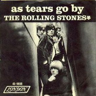 As Tears Go By (song) - Image: As Tears Go By cover