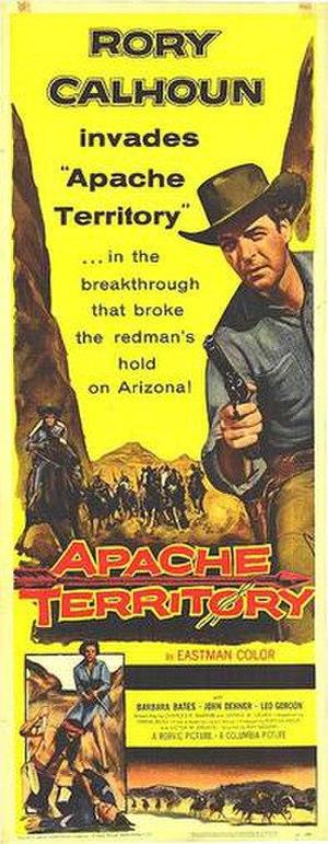 Apache Territory - Original film poster
