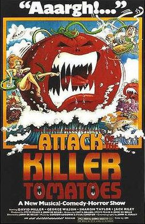 Attack of the Killer Tomatoes - Theatrical release poster
