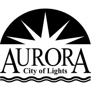 Official logo of Aurora, Illinois