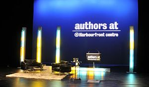 International Festival of Authors - Image: Authors at Harbourfront Centre stage