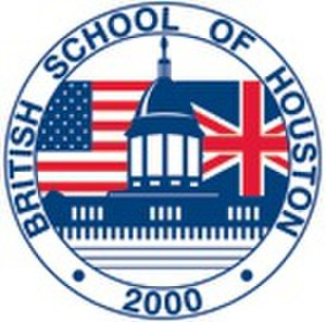 British International School of Houston - Logo for the school under its previous name of the British School of Houston