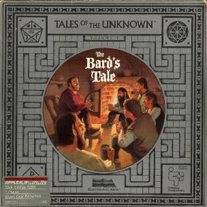 The Bard's Tale (1985 video game) - Image: Bard's Tale Box Cover