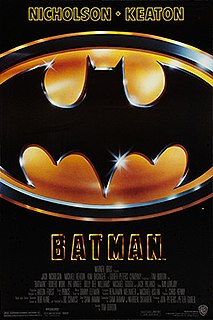 <i>Batman</i> (1989 film) 1989 film directed by Tim Burton