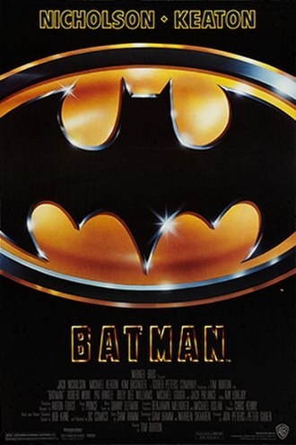 Batman (1989 film) - Theatrical release poster