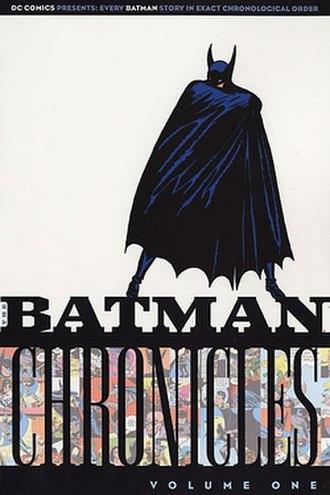 DC Chronicles - Image: Batman Chronicles V1