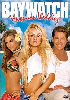 Baywatch hawaiian wedding DVD cover