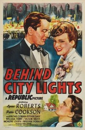 Behind City Lights - Theatrical release poster
