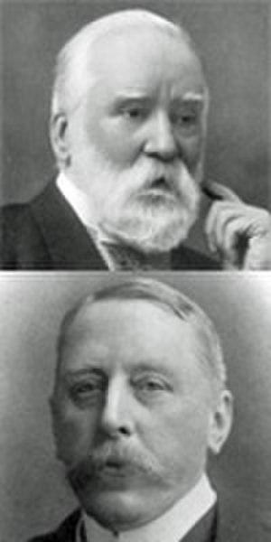English Musical Renaissance - Joseph Bennett (top) and J A Fuller Maitland