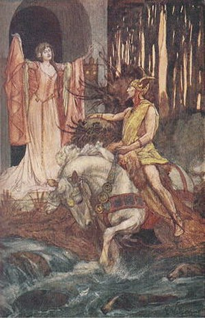 Welsh mythology - Gronw and Blodeuwedd