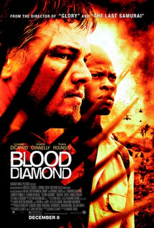 Blood Diamond - Theatrical release poster