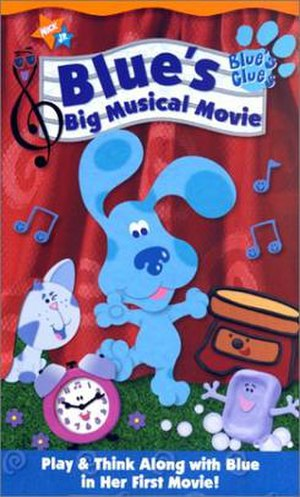 Blue's Big Musical Movie - VHS cover art