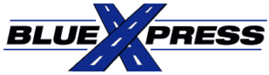 Minnesota Valley Transit Authority - BlueXpress logo, used 2007 to 2015 MVTA merger.