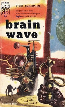 Brain Wave (Poul Anderson novel - cover art).jpg