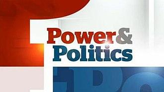 Power & Politics - Image: CBC Power & Politics title card