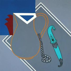 Patrick Caulfield - Still Life with Dagger, 1963, Tate Gallery