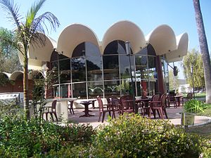 California Lutheran University - Centrum Cafe in Kingsmen Park.