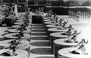 Chandralekha (1948 film) - Image: Chandralekha drum dance scene
