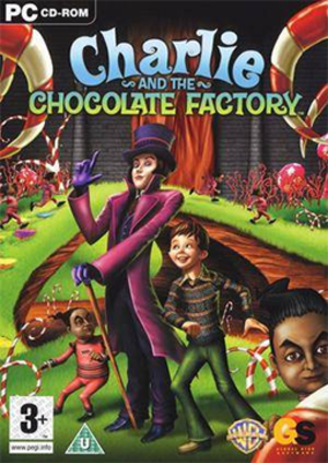 Charlie and the Chocolate Factory video games - PAL region PC cover art