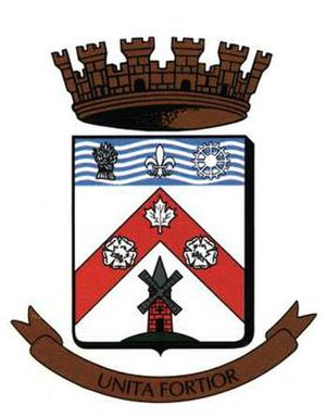 Châteauguay - Image: Chateauguay shield