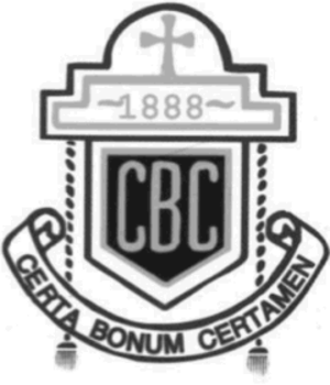 Christian Brothers College, Cork - Image: Christian Brothers College Cork School Logo Greyscale