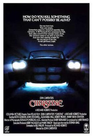 Christine (1983 film) - Theatrical release poster