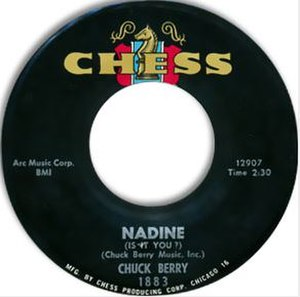 Nadine (song) - Image: Chuck Berry Nadine