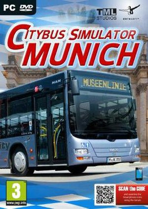 City Bus Simulator - Image: City Bus Simulator 2 Cover