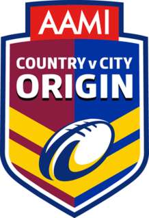 City vs Country Origin television series