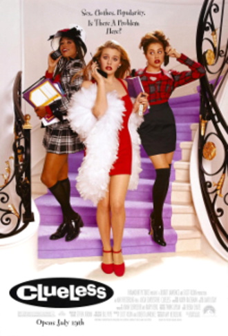 Clueless (film) - Theatrical release poster