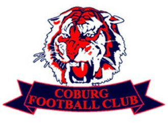 Coburg Football Club - Coburg's logo when they were known as the Coburg Tigers in their alignment with Richmond