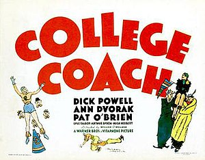 College Coach - Lobby card