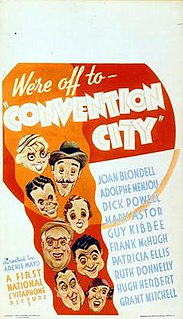 <i>Convention City</i> 1933 film by Archie Mayo